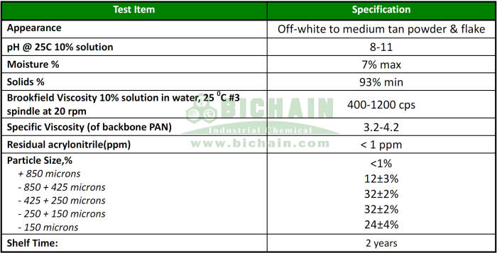 sodium polyacrylate buy spec