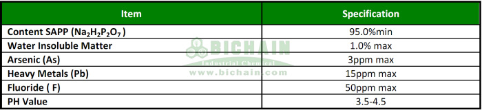 sodium acid pyrophosphate SAPP drilling fluid spec